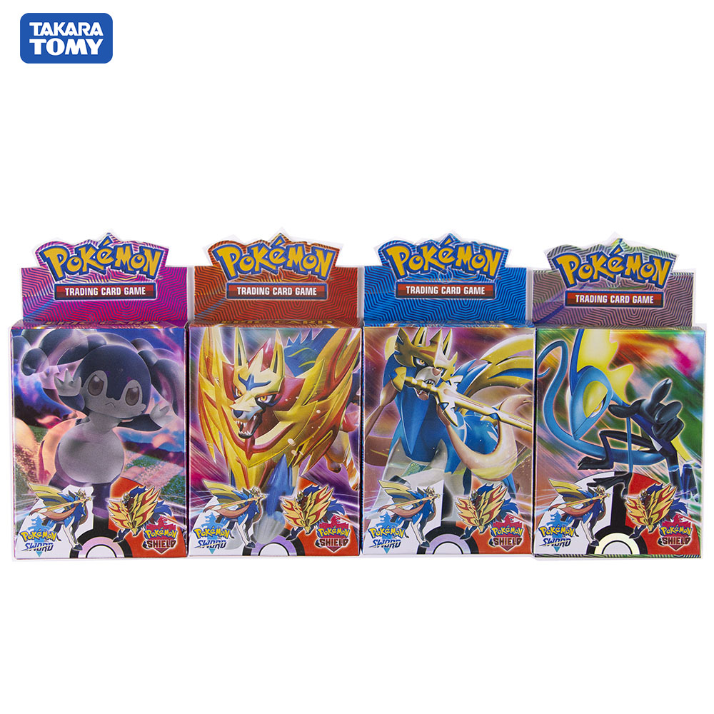 2020New Pokemon Cards Sword And Shield  Box  Cards High Quality Game Card Collection Four-box Purchase Is More Favorable