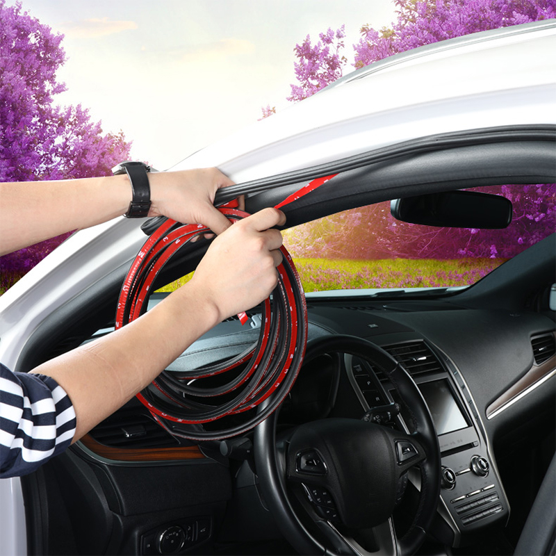 Car Door Seal Strips Stickers Soundproof Sealing Rubber Seals Sound Insulation For Toyota BMW LADA KIA Opel SEAT Mazda MG etc.