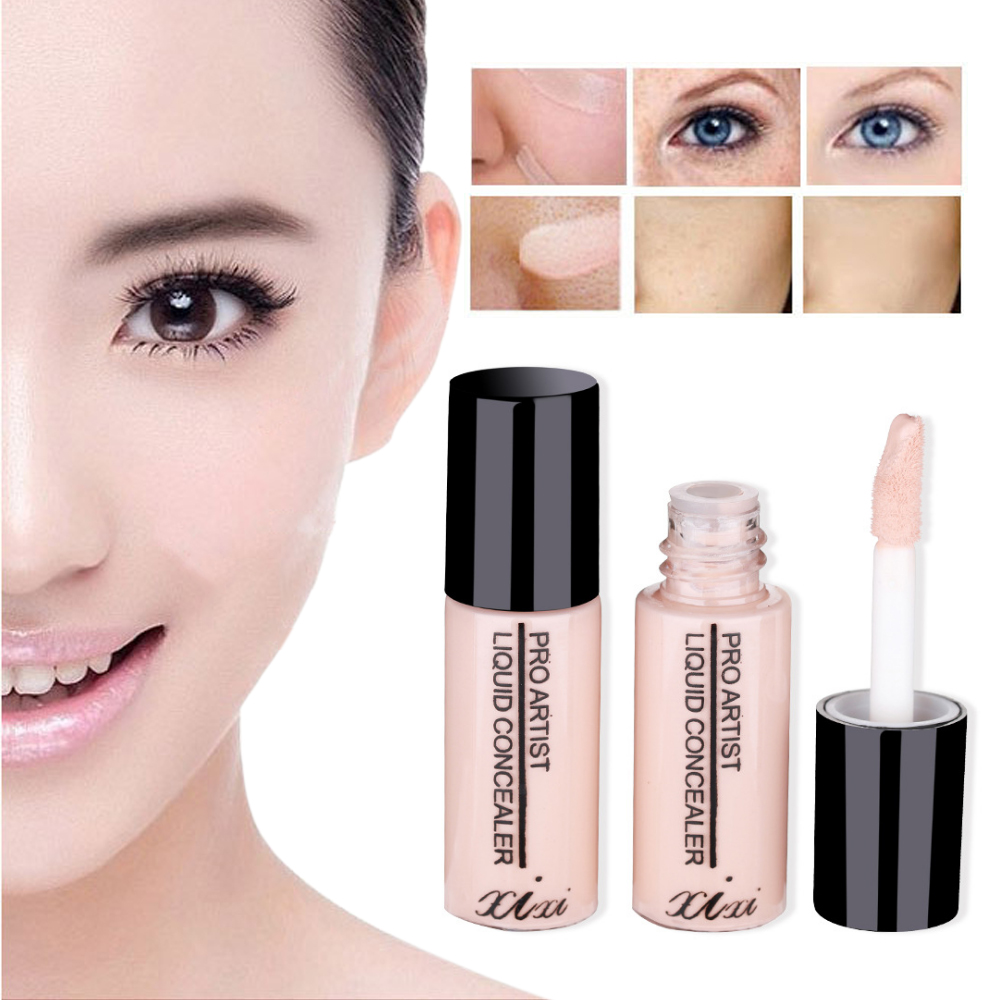 Eye Primer Concealer Cream Long Lasting Concealer Hide Blemish Face Eye Lip Cream Concealer Full Cover Contour Base Makeup image