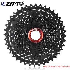 ZTTO MTB 9 Speed 11-40T Cassette with hanger extension 9s 46T Sprocket 9speed 9v k7 wide Ratios For Shimano M430 M4000 M590 Bike