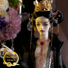 BJD Breccia שועל בובת 1/3 גוף דגם בני בנות Oueneifs באיכות גבוהה שרף צעצועי משלוח עין כדורי אופנה חנות משותף בובה