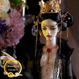 Image 1 - BJD Breccia Fox Doll 1/3 Body Model Boys Girls Oueneifs High Quality Resin Toys Free Eye Balls Fashion Shop Joint Doll