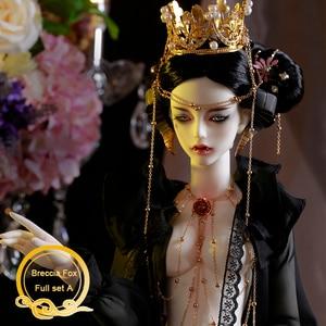 Image 1 - BJD Breccia poupée renard 1/3, modèle du corps pour garçons et filles Oueneifs, jouets en résine de haute qualité, boules oculaires libres, boutique de mode, poupée conjointe