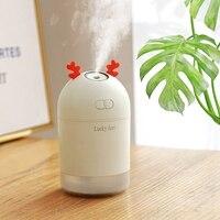 Glück Hirsche USB Mini Luftbefeuchter 400Ml Auto Luft Reinigung Luftbefeuchter Aromatherapie Ätherisches Öl Diffusor|Luftbefeuchter|   -
