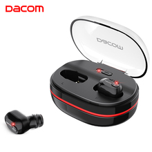Music Earbuds Bluetooth Earphone Support Wireless Charging Mini Sports Headset HiFi Stereo Microphones With 1100mAh Box K6H
