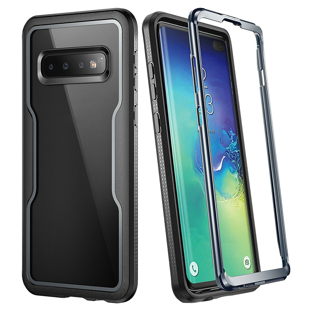 For Samsung Galaxy S10 Plus Protective Case 6.4 Inch TPU Clear Shock Proof Full-Body Case Cover