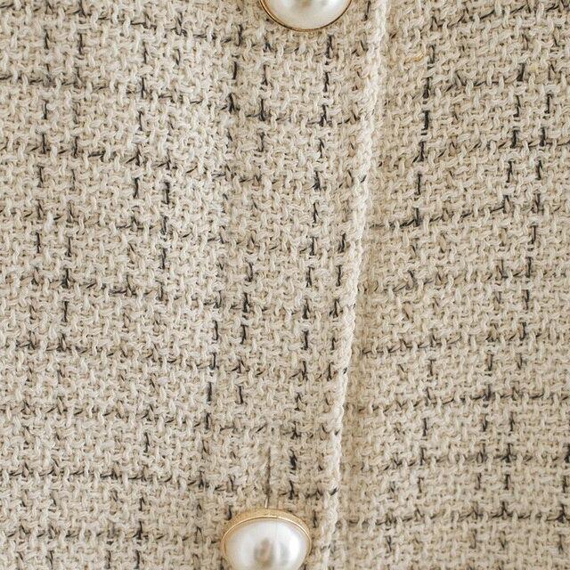 Women Blazer Za 2021 Office Lady Beige Plaid Print Singe Button Jacket Women Long Sleeve Casual Blazer Tops Mujer 4