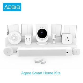 Xiaomi gateway Smart Home kits Wireless Wall Switch Door Window Sensor body sensor wireless relay module for Mijia HomeKit