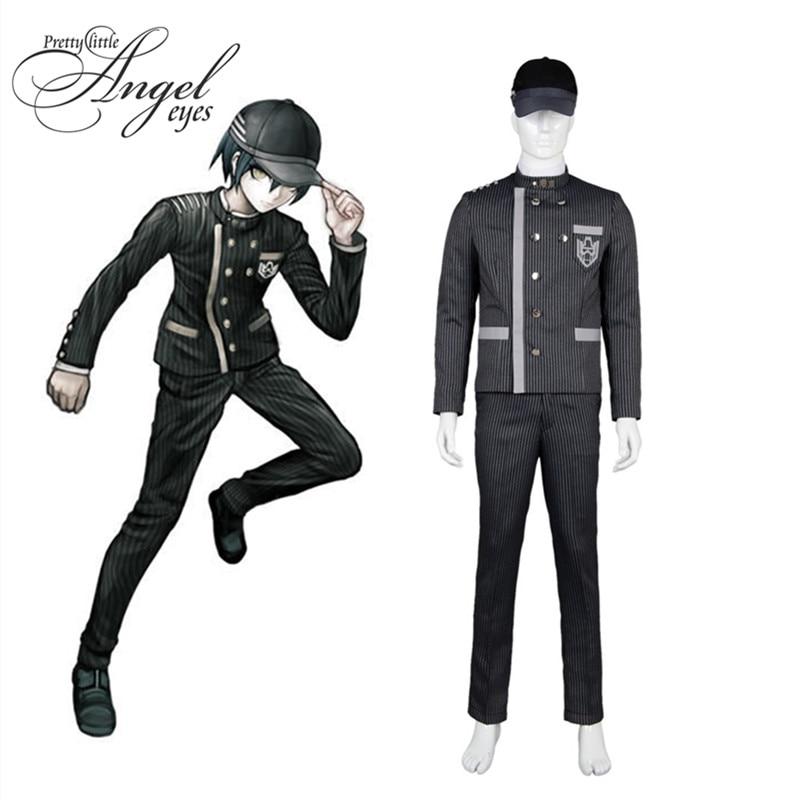 Anime Danganronpa V3 Saihara Shuichi Uniform Cosplay Costume Halloween Party suit