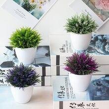 1pc plantas artificiais bonsai pequeno pote de árvore plantas falsas flores vasos ornamentos para decoração de casa hotel jardim decoração bonsai