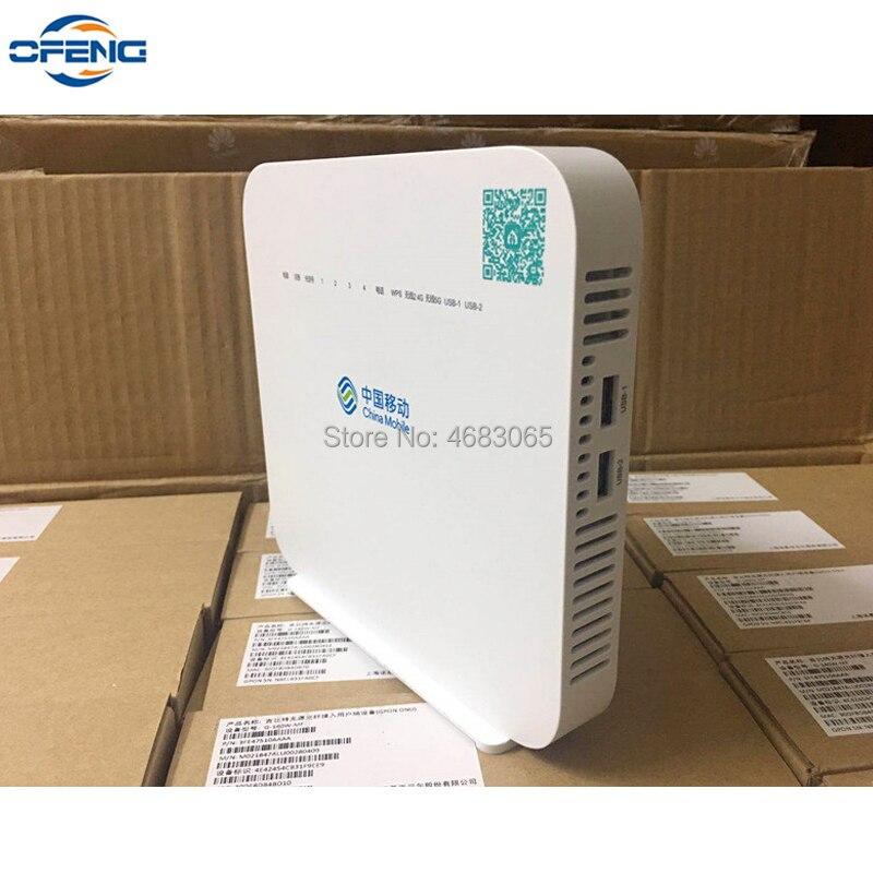Envío Gratis Alcatel-lucent G-140W-MF GPON ayu UT 4GE + 1Tel + Wifi 2,4G, firmware en inglés, misma función que HS8145V gpon ayu HUAWEI HS8145V HGU Dual banda Router 4GE + Wifi 2,4 GHz/5 GHz WiFi EPON/GPON ONU ONT FTTH modo Termina Gpon de fibra Router de red