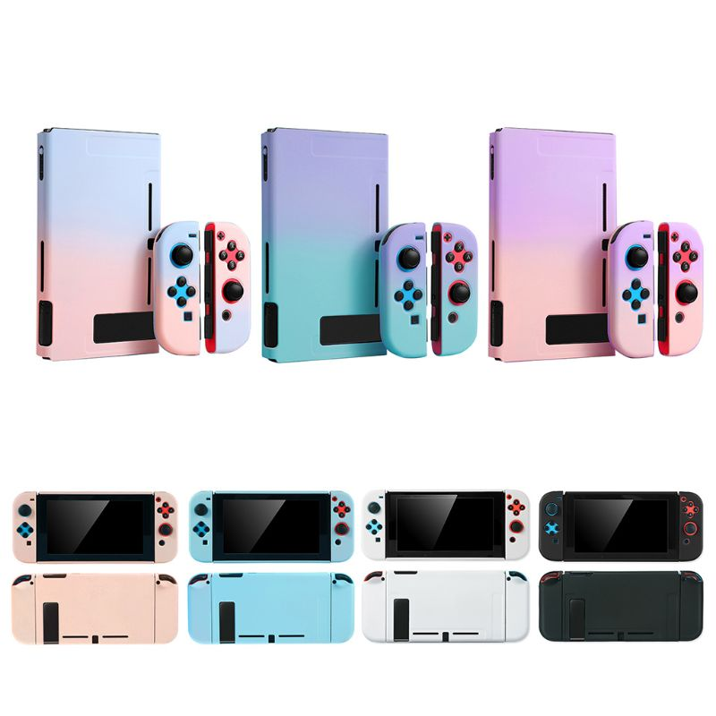 Hard PC Protective Cover Anti-fall Case Housing Full Shell Protector for NS Switch Game Console image