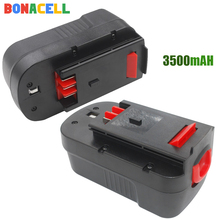 Bonacell 3500mAh 18V NI-MH HPB18 Rechargeable Battery For BLACK&DECKER A18 A1718 A18NH HPB18-OPE FS1800CS FS1800D FS180
