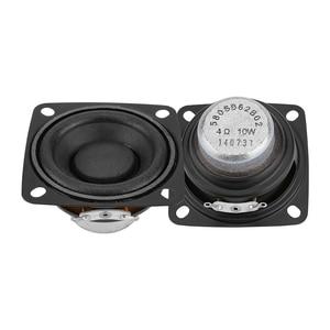 Image 4 - Aiyima 2 pc 2 Polegada 4ohm alto falante gama completa alto falante música de som driver 10 w 15 20 alto falante de rádio diy para o sistema de áudio em casa