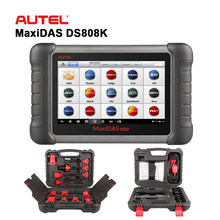 Autel MaxiDAS DS808K Automotive Diagnostic Scanner with OE-Level All Systems ABS SRS EPB BMS Oil Reset Car Repair Scan Tools