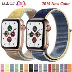 Nylon Strap Für apple watch 5 4 Band Correa apple watch 42mm 38 mm 44mm 40mm iwatch 3 2 pulseira armband armband armband
