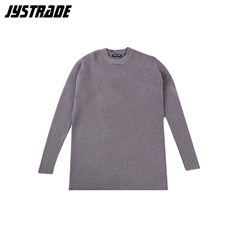 Winter Men Gray Sweater Plus Size Long Sleeve Knitted Sweater Autumn Streetwear Coat Male Large Warm Pullover Top Man Knitwear