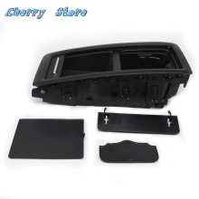 Tray Central-Storage-Box Rear-Seat PASSAT Volkswagen NEW Plastic Black 3C8 885 Bench
