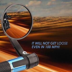 "Image 4 - บาร์รถจักรยานยนต์ End กระจก Universal กระจกมองหลัง CNC อลูมิเนียม7/8 ""22Mm สำหรับ KAWASAKI NINJA 400 Z650 Z750 z800 Z900 MT09 07"