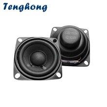 Tenghong 2pcs 2 Inch Audio Portable Speakers Full Range 4 Ohm 10W Treble Midrange Subwoofer Loudspeaker For Home Theater DIY