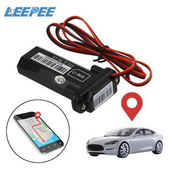 LEEPEE Waterproof Builtin Battery Anti-theft Mini for Car Motorcycle Vehicle With Online Tracking Software GT02 GSM GPS Tracker image
