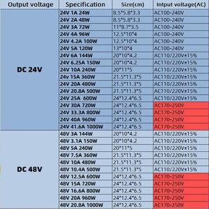 KAYPW импульсный источник питания, светильник, трансформатор AC 110V 220V к DC 5V 12V 24V 48V, источник питания, адаптер для светодиодной ленты CCTV