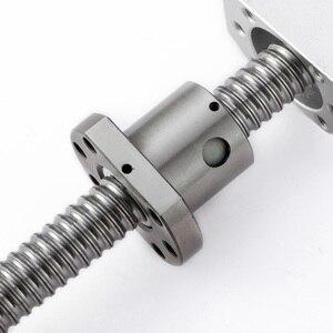 Image 5 - ชิ้นส่วนCnc SFU/RM1605/1604 /1610ชุดรีดสกรูบอลMachined + Flange Nut + Dsg16h + BKBF/EKEF/FKFF12 Endสนับสนุน + Coupler