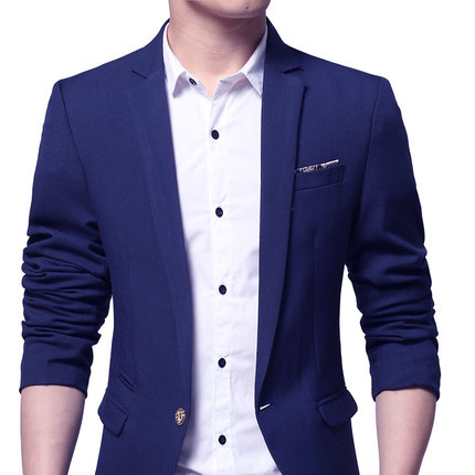 Fashion New 2020 Autumn Spring Male Blazer Casual Slim Fit Suit Men Outwear Single Button Velvet Blazer Men Plus Size HJ497