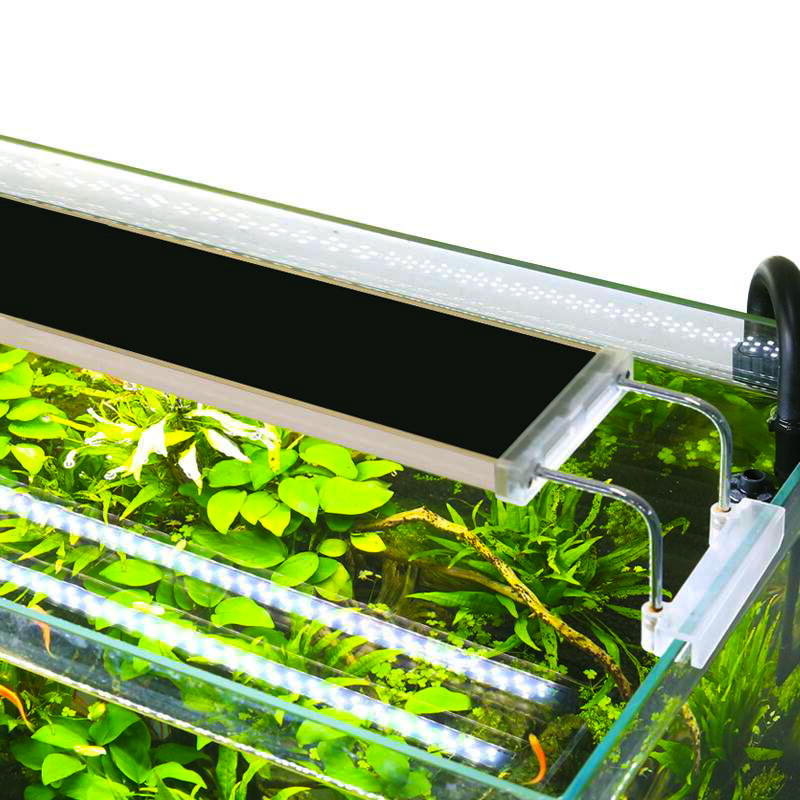SUNSUN ADE/ADS Aquarium LED Lighting Lamp Aquatic Plant Fish Tank LED Light Aquarium Light Slim Grow Lighting Lampe 5-24W 220V