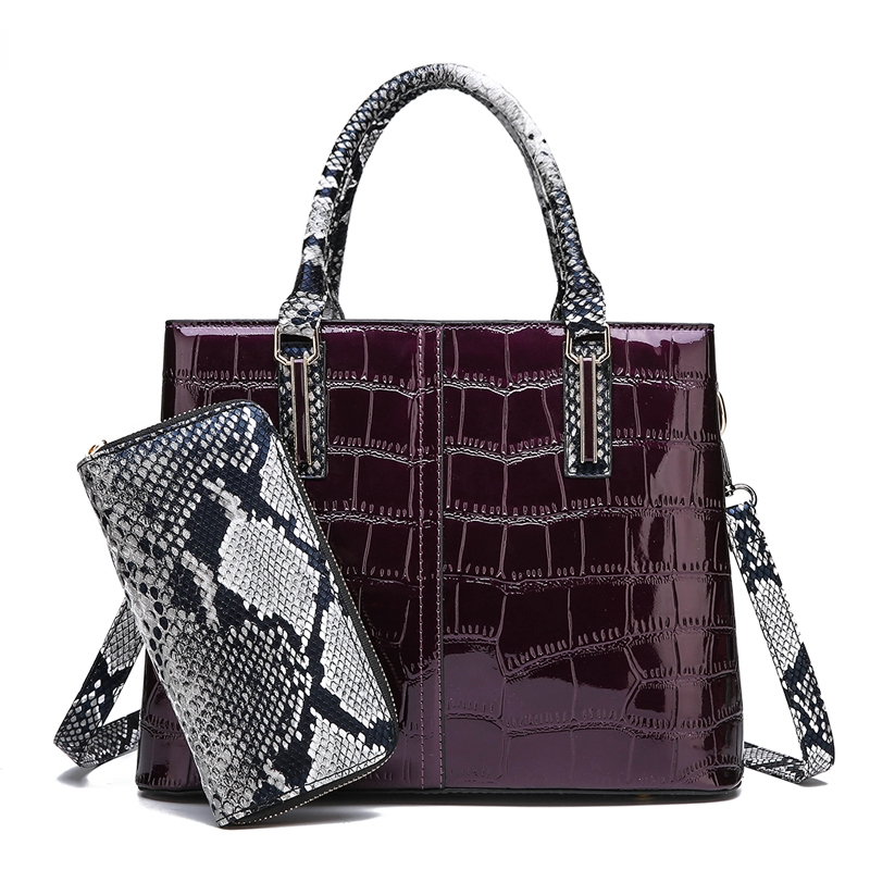 Litthing 2 Sets Handbags Women Bags Designer Leather Crossbody For 2019 Wallet Messenger Tote women shoulder bag