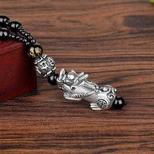 Фэн-шуй Вьетнам шакин золотой цвет ожерелье пиксиу Единорог счастливое богатство ожерелья для Модных Ювелирных Изделий Чокер