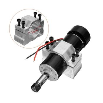 цена на DC 48V 500W Air Cooled Spindle Motor 12000rpm Brushless Motor ER11 Grinding PCB Carving Speed Regulation Hand Drill