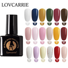 LOVCARRIE Gel Nagellak Nagels Gel UV Kleuren 6.5ML Primer Vernis Semi Permanente Manicure Gel Vernis Nailart Kits Gelpolish lak(China)