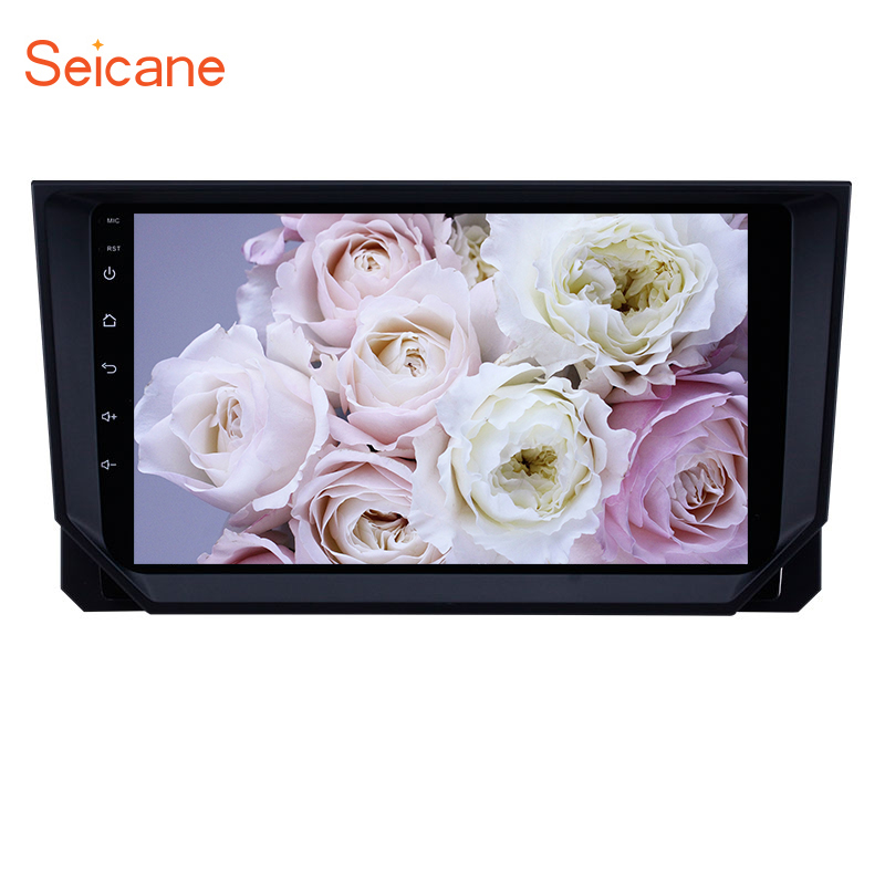 Seicane 9inch Android 8.1 car GPS Navi <font><b>Radio</b></font> for <font><b>2018</b></font> <font><b>Seat</b></font> <font><b>Ibiza</b></font> with Bluetooth USB WIFI HD Touchscreen support TPMS Carplay DVR image