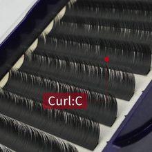 New 12 Rows C curl 0.20mm eyelash 8-13mm extension 3d mink lashes  fake eyelashes