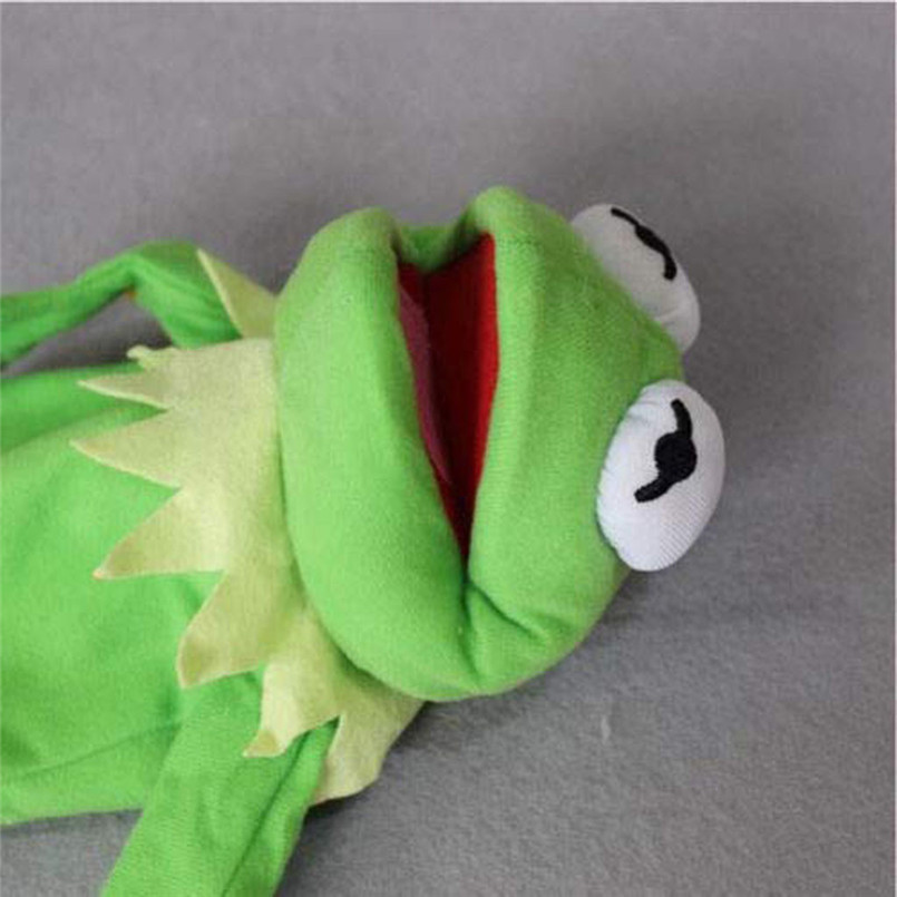 Sesame Street The Muppet Show Kermit Frog Puppets Plush Toy Doll Stuffed Toys A Birthday Present For Your Child #30D12 (3)