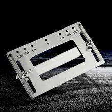 Шкаф аппаратное джиг универсальный шаблон деревообрабатывающее сверло руководство Мебельная ручка инструмент X4YD