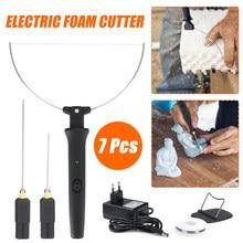3 In 1 Elektrische Styropor Cutter Stift 18W DIY Griff Schaum Elektrische Schneide Maschine Kit Schaum Schneiden Heißer Heizung draht