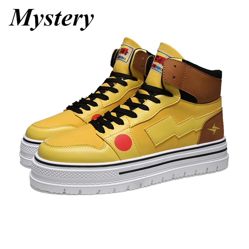 Classic Men's Fashion Casual Shoes High Top Sneaker 2019 Spring New Men Shoes High Quality Non slip Walking Shoe Zapatillas