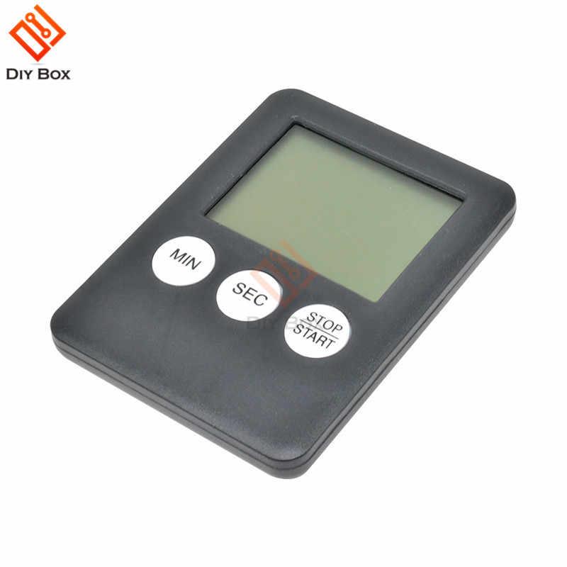 Super mince LCD écran numérique cuisine minuterie carré cuisson compte à rebours alarme sommeil chronomètre Temporizador horloge