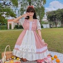 Anbenser сладкий В Стиле Лолита; Кружевное платье в стиле ретро