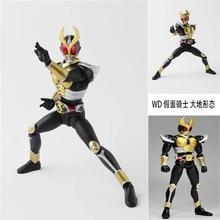 Cavaleiro mascarado kuuga kamen rider bjd preto figura anime figura de ação pvc nova coleção figuras brinquedos 16cm