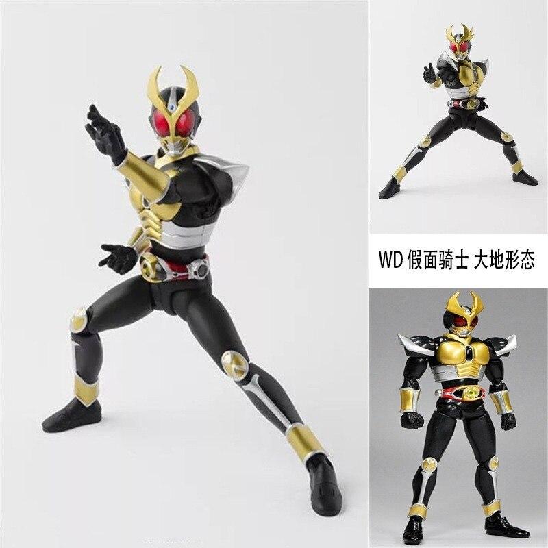 Masked Rider Kuuga Kamen Rider BJD black figure Anime Action Figure PVC New Collection figures toys 16cmAction & Toy Figures   -