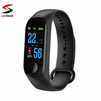 M3 Smart Wristband Fitness tracker Bracelet Waterproof bluetooth smartwatch LED Message Heart Rate monitor smart bracelet