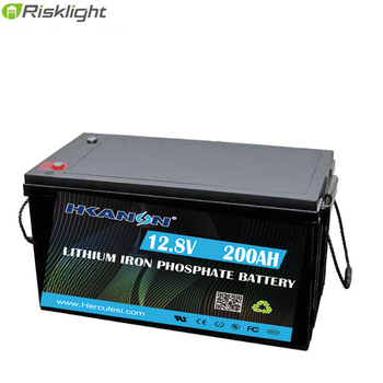 12V 200Ah 2560WH LiFePO4 Deep Cycle Battery 2000-5000 Cycles Perfect for RV, Caravan, Solar, Marine, Home Storage and Off-Grid image