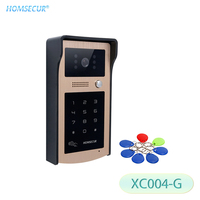 HOMSECUR XC004 G Outdoor Camera Password Keyfob Unlock For Home Security Video Door Phone Intercom