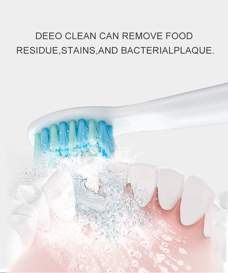 Seago Electric Toothbrush Rechargeable Sonic Automatic Tooth brush replacement Head Soft Bristle Deep Clean Best Gift SG-508