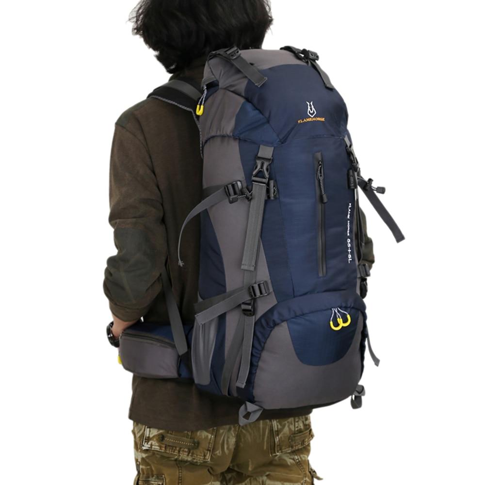 Lixada 60L Hiking Backpack Water resistant Military Backpack Outdoor Sports Bag Mountaineering Travel Rucksak Climbing Equipment