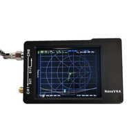 Analizador de antena del analizador de red con estuche de plástico, batería de 450MAh, 2,8 pulgadas, LCD, nanovna-h, 50KHz ~ 1,5 GHz, VNA, HF, VHF, UHF, Vector, UV
