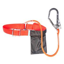 Climbing Safety Harness Fall Protection Body Safe Belt Band Industrial Construction Electrician Rescue Rope Tool Large Buckle miller by honeywell ra20 25 xxl 25ftu 25 feet reusable roofing fall protection anchor kit with hardware and xx large harness